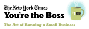 "The New York Times: Small Business: ""You're the Boss"""