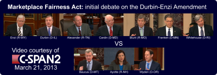 Senate Debate March 21, 2013